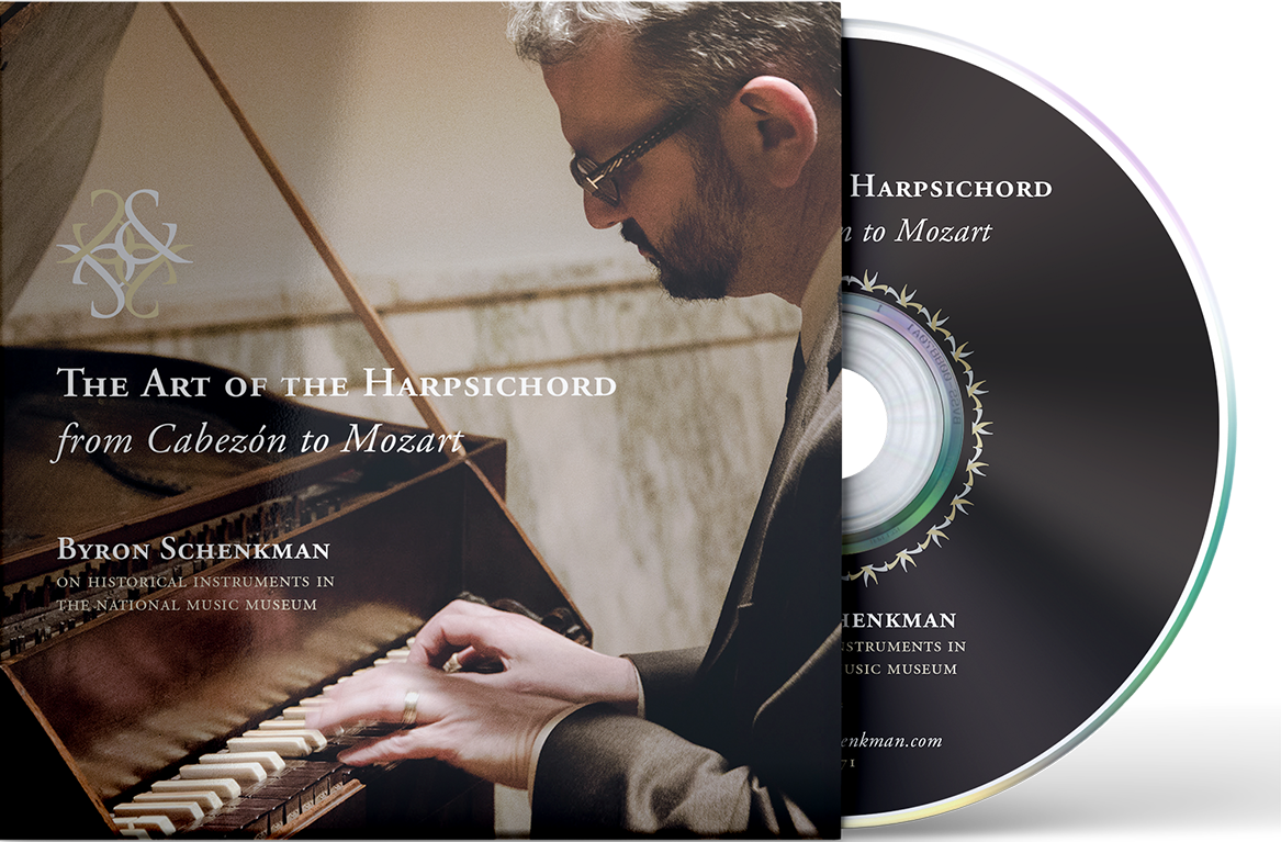 Byron Schenkman & Friends - Art of the Harpsichord CD